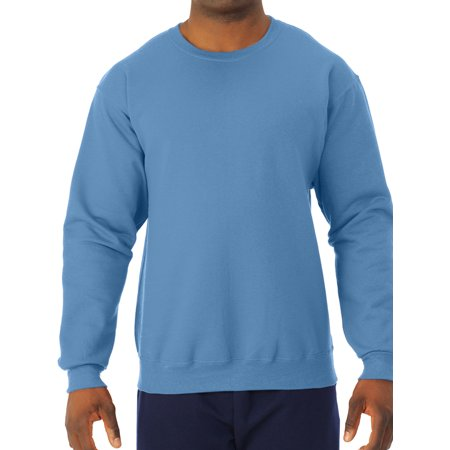 Garnet Mens Sweatshirt - Men's NuBlend Preshrunk Fleece Crew Sweatshirt