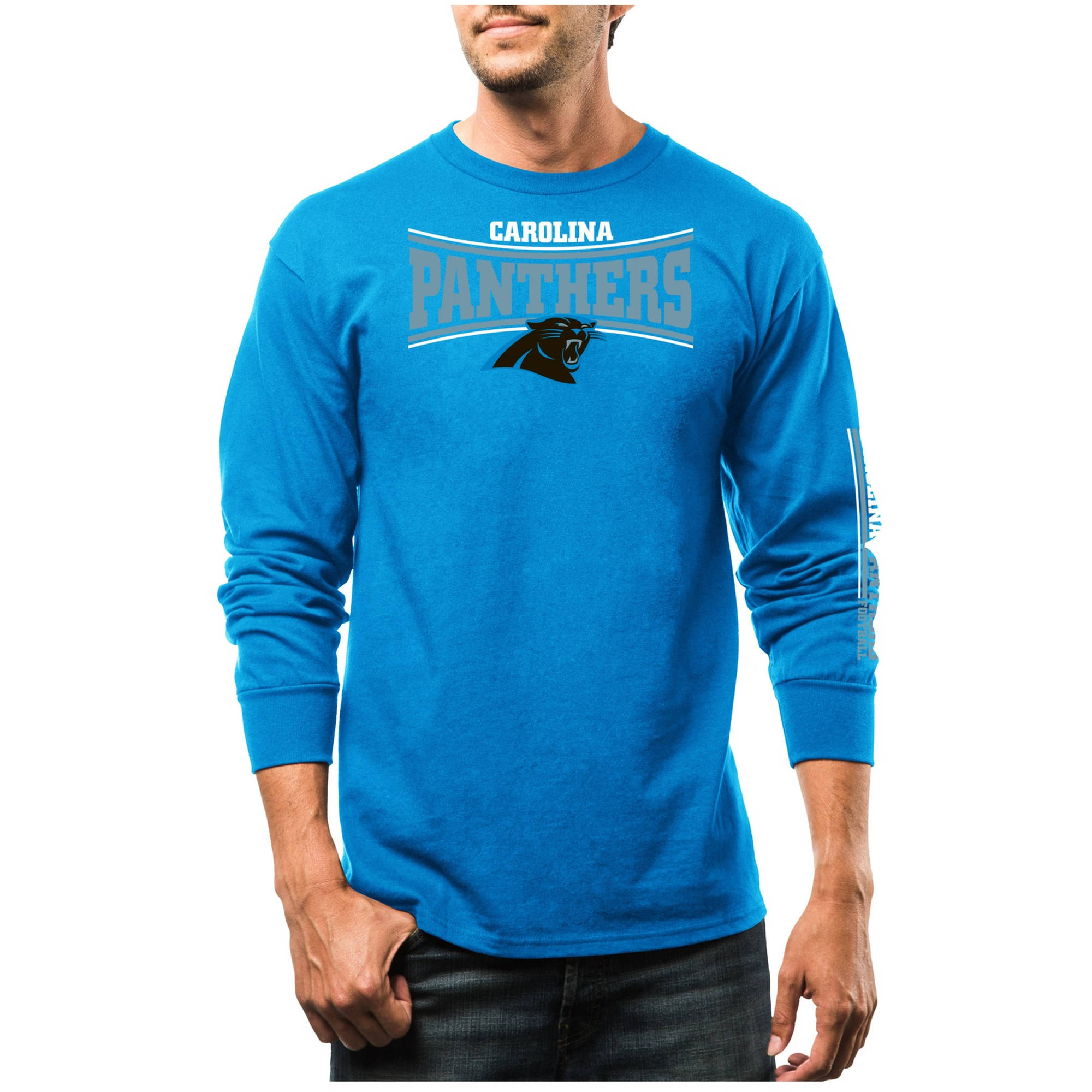 NFL Men's Carolina Panthers Long Sleeve Tee