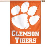 "Clemson Tigers WinCraft 28"" x 40"" Logo Single-Sided Vertical Banner"