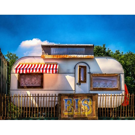 Canvas Print Sale Mobile Home Nostalgia Ice Camping Trailers Stretched on quad mobile, superman mobile, sky mobile, apple mobile, blu mobile, claro mobile, honor mobile,