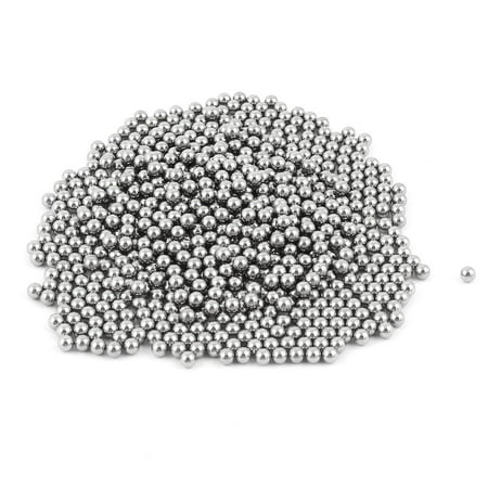 Silver Tone 4mm Bearing Steel Balls Bicycle Bike Spare Parts 750 (Best Bikes Under 750)
