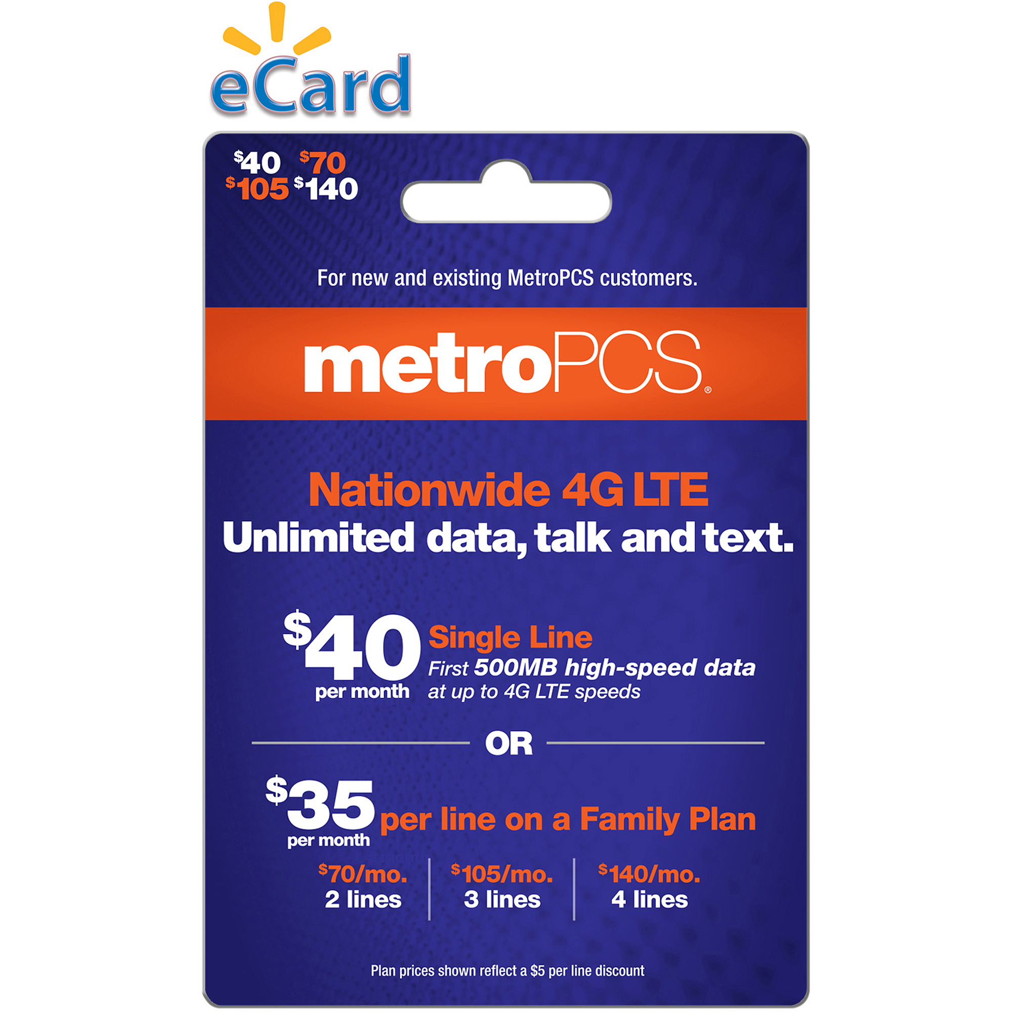 MetroPCS $140 (Email Delivery)