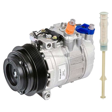 (OEM AC Compressor w/ A/C Drier For Mercedes-Benz CLK320 & CLK430 2003)