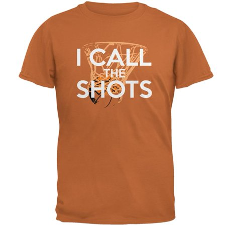 Basketball T-shirt (I Call the Shots Basketball Mens T Shirt )