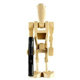 LEGO Star Wars Minifigure Battle Droid with Blaster Gun (Clone