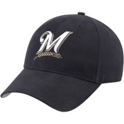Milwaukee Brewers Fan Favorite Basic Adjustable Hat - Navy - OSFA