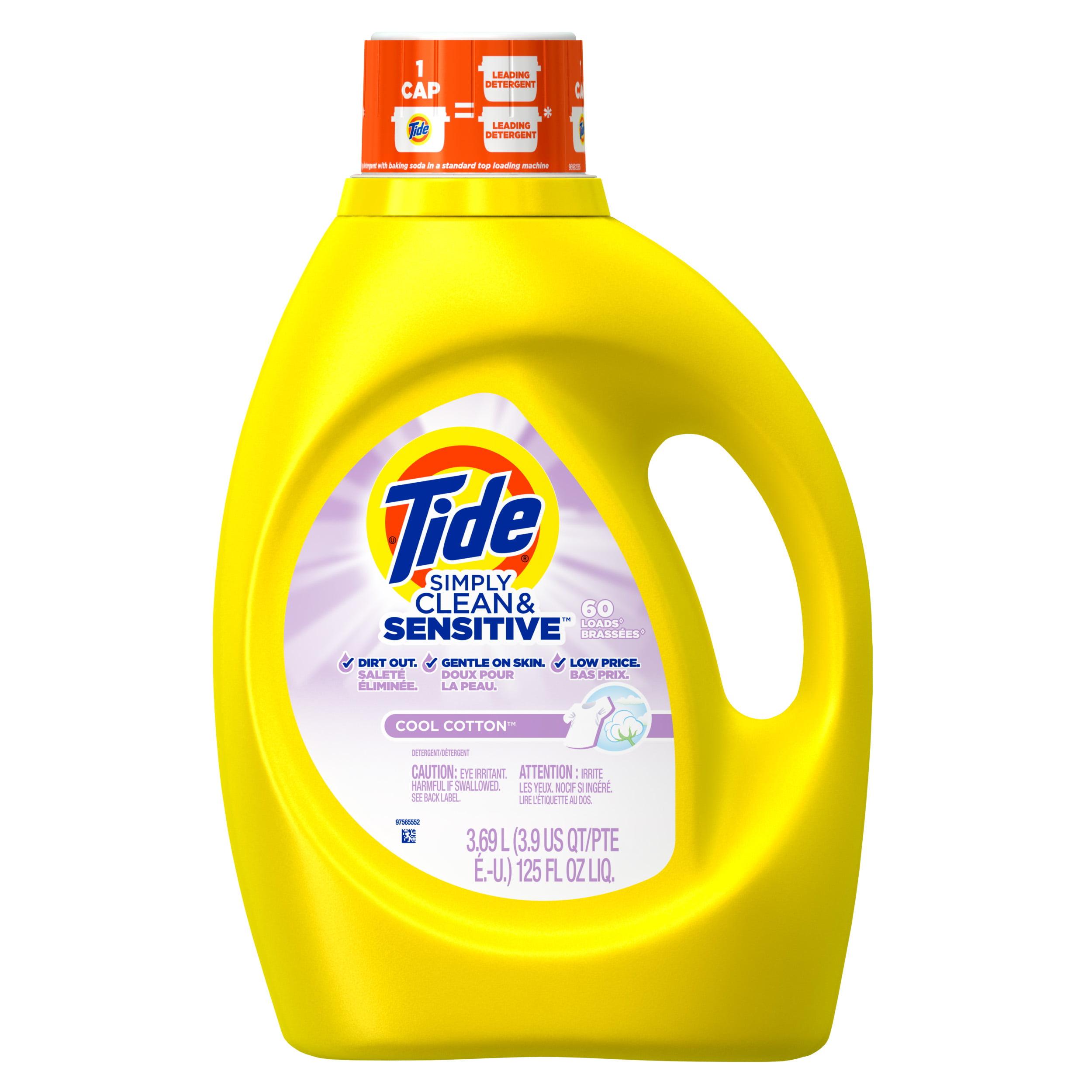 Tide Simply Clean & Sensitive HE Liquid Laundry Detergent ...