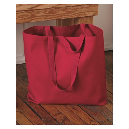 Q-Tees Bags 24.5L Jumbo Canvas Tote