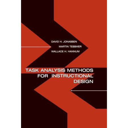 Task Analysis Methods For Instructional Design Walmart Com Walmart Com