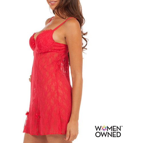 Smart & Sexy Women's Mega Bump Chemise