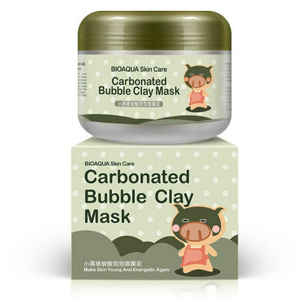 Carbonated Bubble Clay Mask Bubbles Mud Mask Moisturize Deep Cleansing Face Mask 3.52