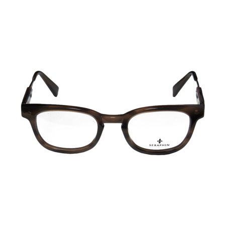 Seraphin Drew 47-21-145 Brown / Antique Gold Full-Rim Eyeglasses ...