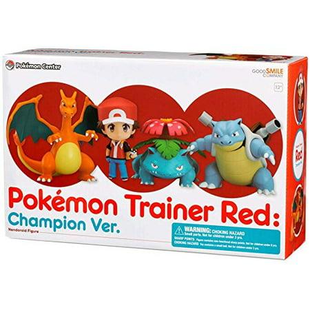 Nendoroid PokÃmon Trainer Red: Champion Ver. Posable Figure - image 3 of 3