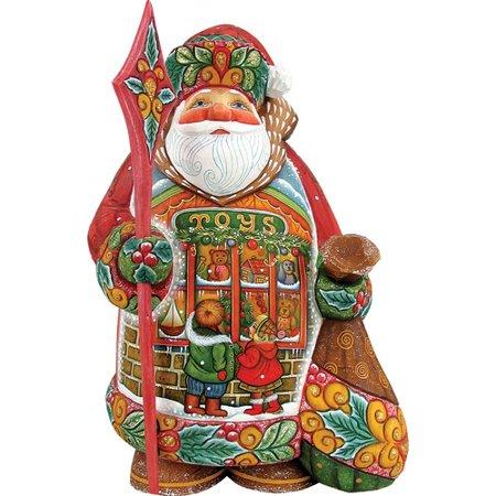 G. Debrekht 515011 Derevo Collection Little Wishes Santa 6 (Derevo Collection)