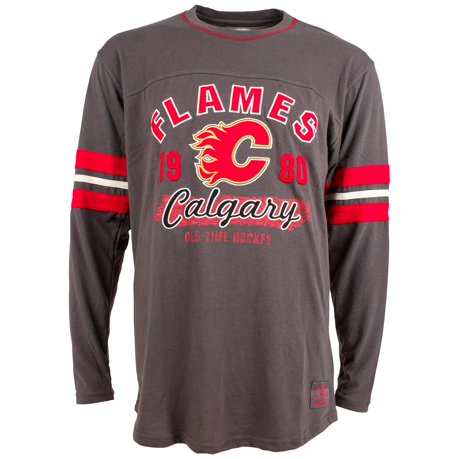 calgary flames yutan long sleeve jersey t shirt