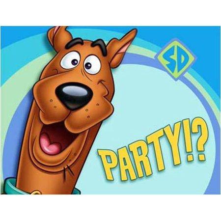 Scooby Doo Invitations (Scooby Doo Party Invitations 8)