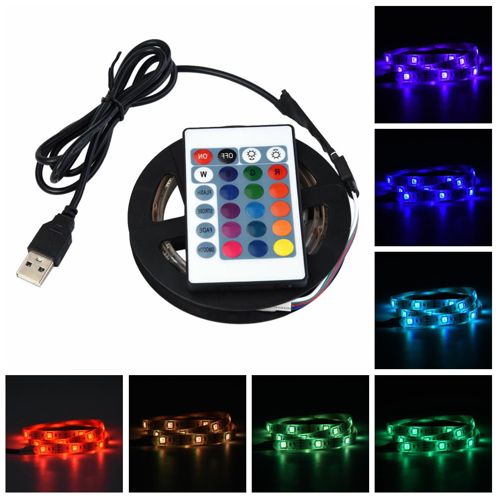Bande r/éfl/échissante LED Bande r/éfl/échissante pour enfants Bracelet LED rechargeable Bracelet r/éfl/échissant pour course /à pied 1 bracelet lumineux USB sport