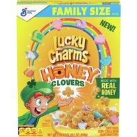 Lucky Charms Honey Clover Cereal 19.7 oz Box