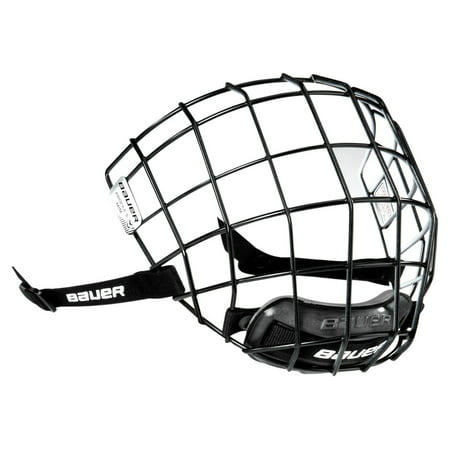 New Bauer 1043047 Black Large Profile II Hockey Facemask W/chin Cup Cage