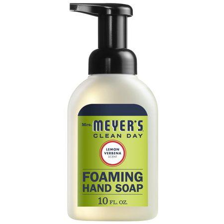 (3 Pack) Mrs. Meyer's Clean Day Foaming Hand Soap, Lemon Verbena, 10 Oz