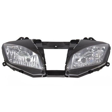 Best Choice Products Clear Headlight Lamp Assembly For