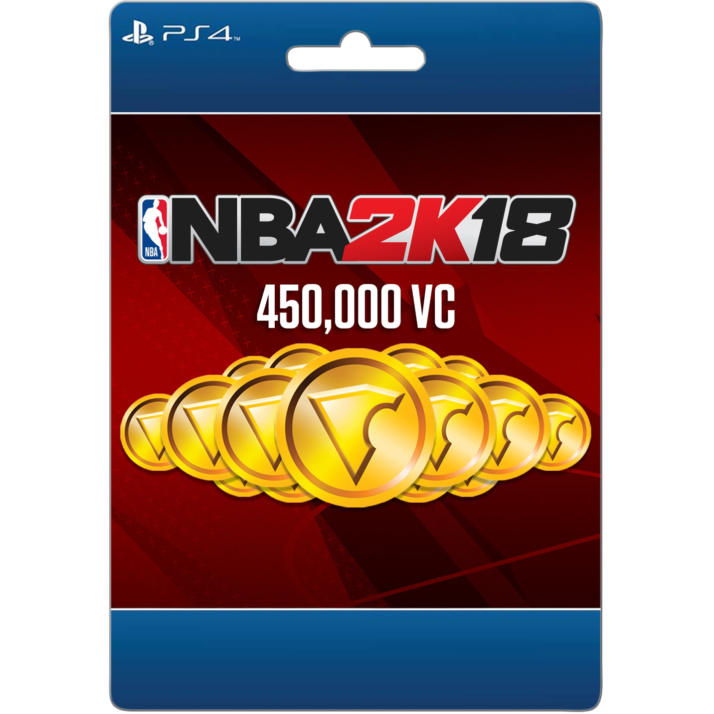 Sony NBA 2K18 450,000 VC (email delivery)
