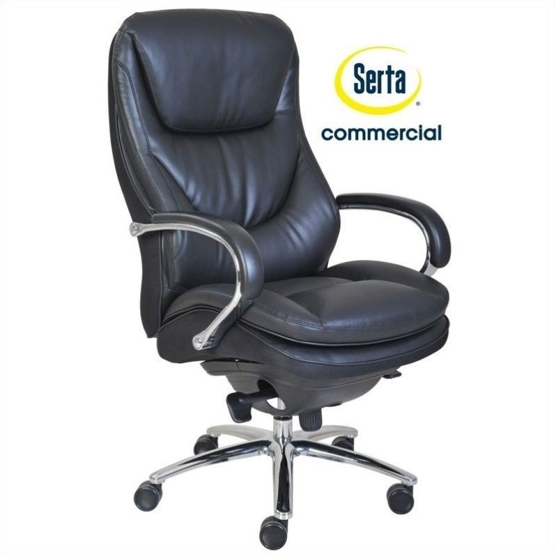 Serta At Home Series 500 Puresoft High Back Executive Chair