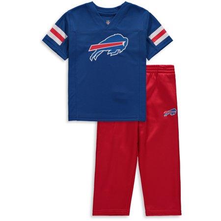 online store a34e8 d47c7 Buffalo Bills Toddler Training Camp Pants & T-Shirt Set - Royal/Red