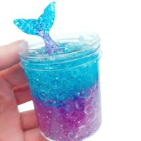 120ml Mermaid Mud Mixing Cloud Slime Putty Scented Stress Kids Clay Toy