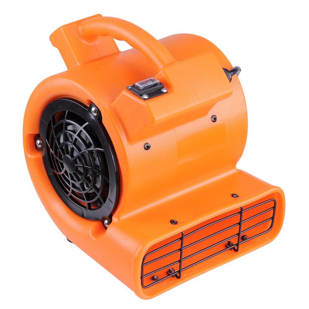 Yescom 1/12 HP 349 CFM Air Mover Floor Dryer Blower Fan for Floor Carpet Orange