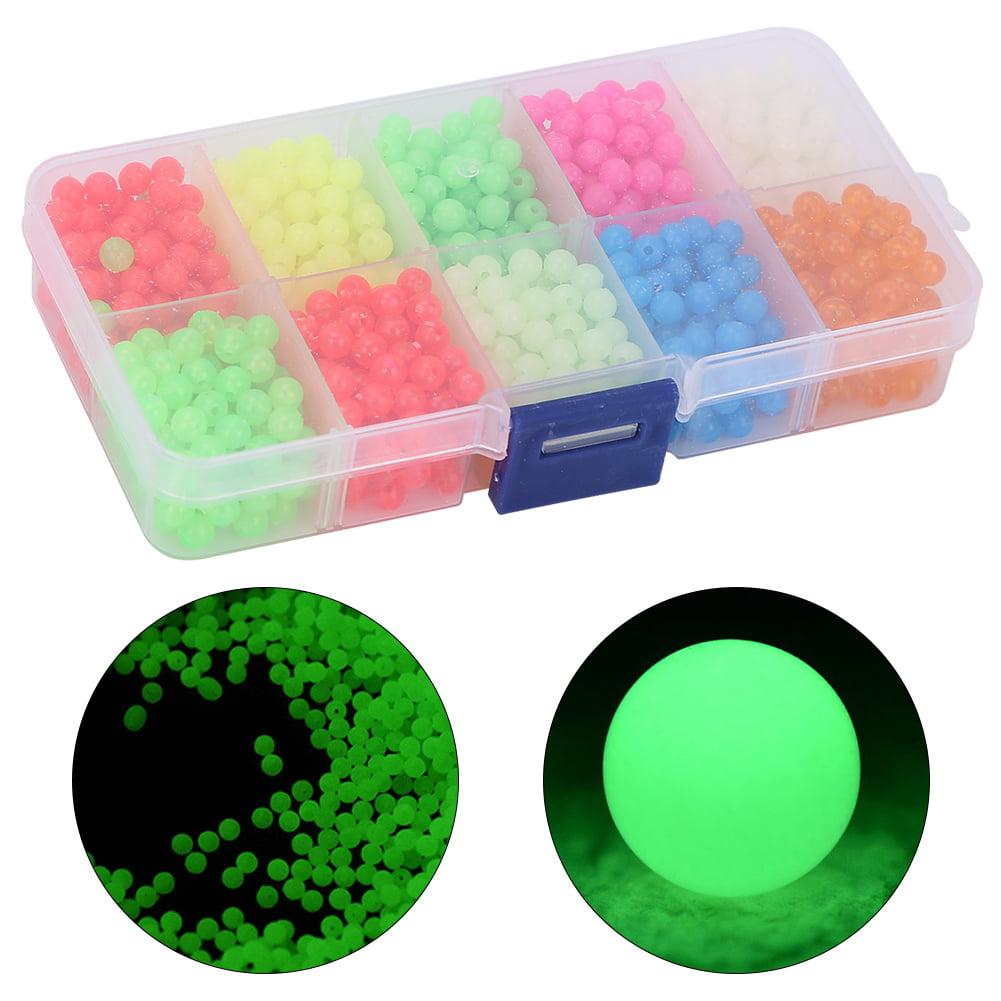 1000X Luminous fishing beads lure glow beads fishing fishing beads kitOD