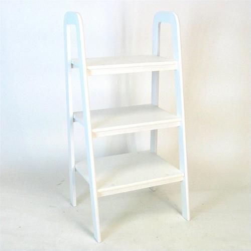 Wayborn Birchwood Ladder Stand in White