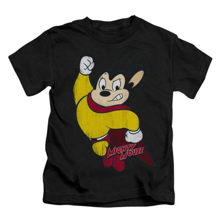Childrens Clothing Shops (Mighty Mouse Boys' Classic Hero Childrens T-shirt)