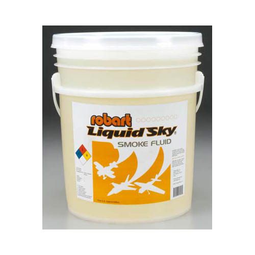 210-5 Liquid Sky Smoke Fluid 5 Gallon Multi-Colored