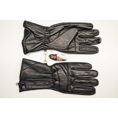 Street Riding Gloves - 3rd Street 1100-090 Pair Leather Riding Gloves XXXL QTY 1