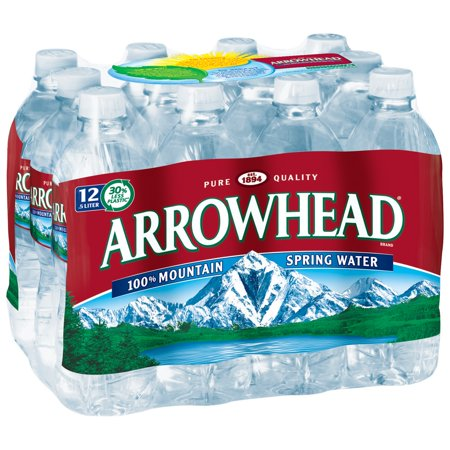 Arrowhead Mountain Spring Water  16 9 Fl Oz  12 Count