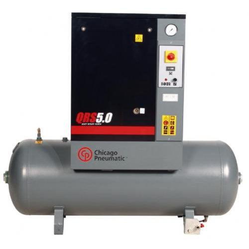 CHICAGO PNEUMATIC QRS 5 HP Rotary Screw Air Compressor,5HP,3Ph G3441369
