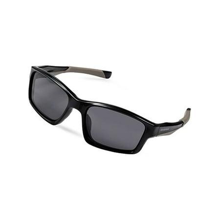 04126fe0f9 Duduma Uv400 Protection Polarized Rectangle Sports Sunglasses for Cycling  Running Baseball Fishing Tr603 Unbreakable Frame (black frame with black  lens)