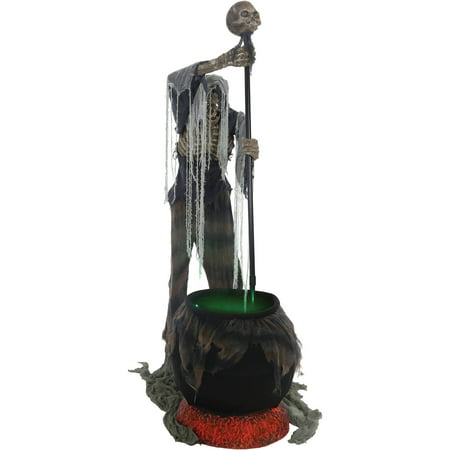 Cauldron Creeper Animated Halloween Decoration - Halloween Guirca
