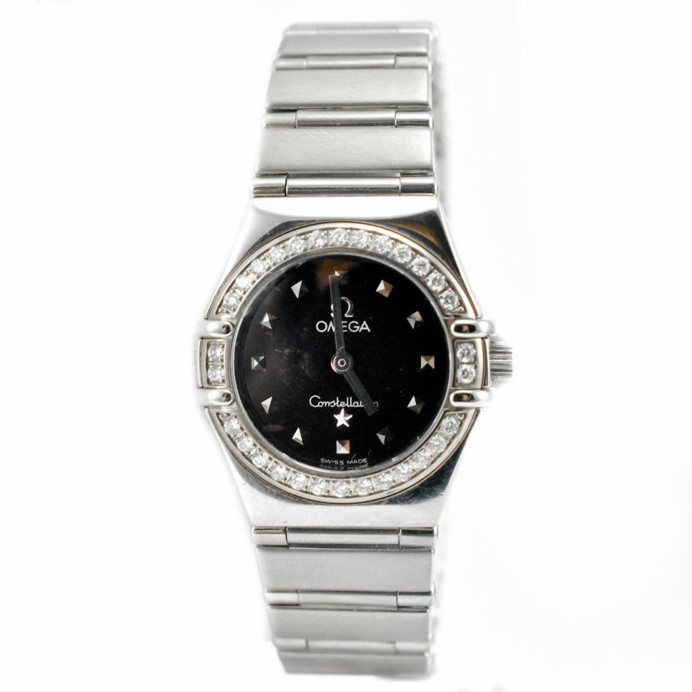 Pre-Owned Omega Constellation 1465.51. Steel Women Watch (Certified Authentic & Warranty)
