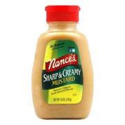 Nance's Mustard Sharp & Creamy, 10 OZ (Pack of 6)
