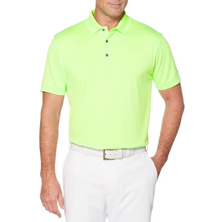 Men's and Big Men's Performance Short Sleeve Solid Polo shirt, up to size - Polo Golf Apparel