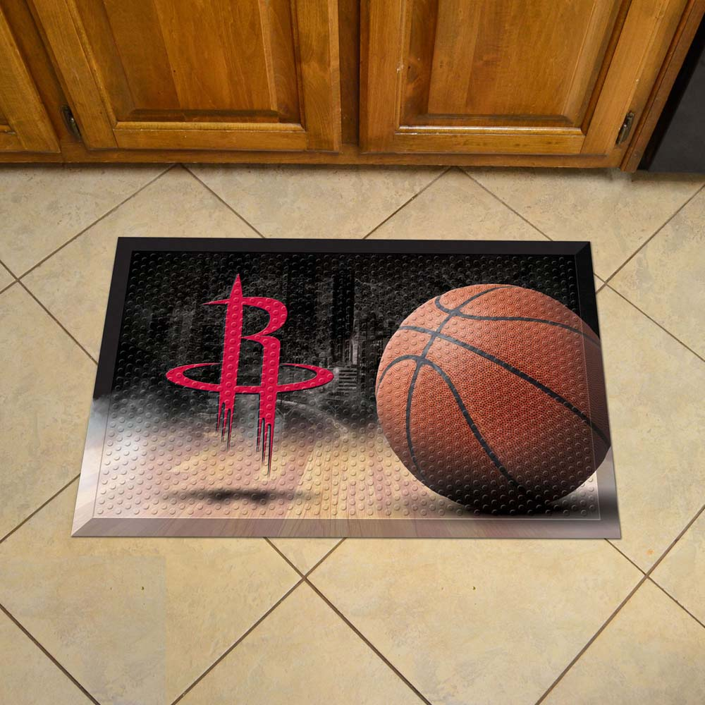 Houston Rockets Scraper Doormat
