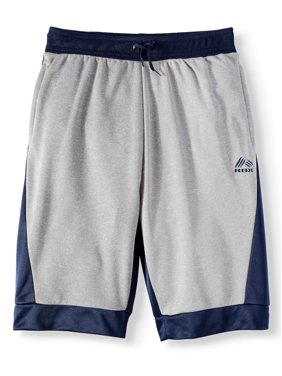 RBX Color Blocked Performance Fleece Shorts (Big Boys)