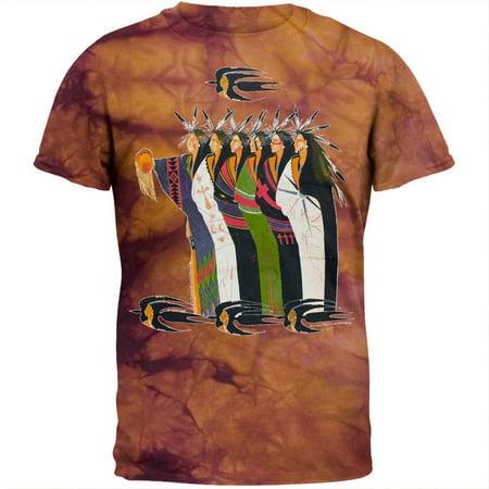 Cotton Tie Dye Batik (Batik Indians Tie Dye T-Shirt )