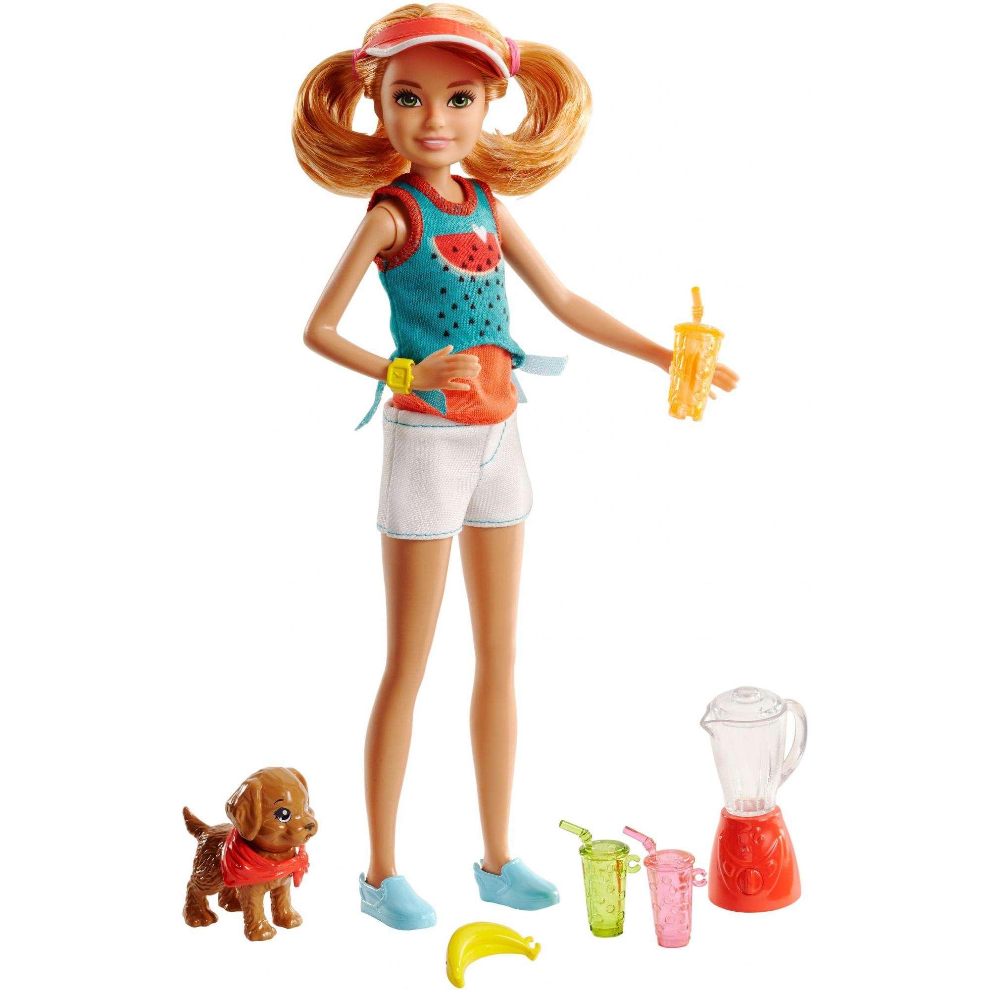 Barbie Sisters Stacie Healthy Juicing Play Set