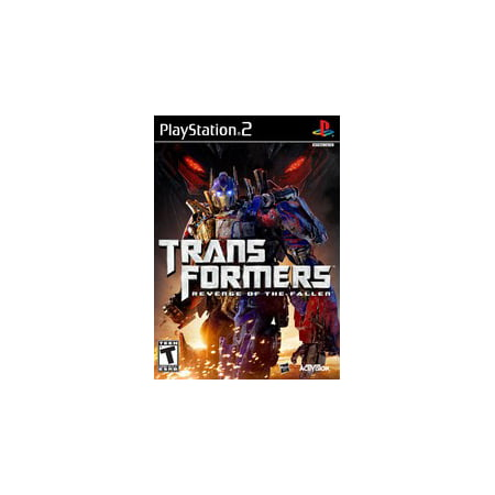 Transformers: Revenge of the Fallen - PS2 Playstation 2