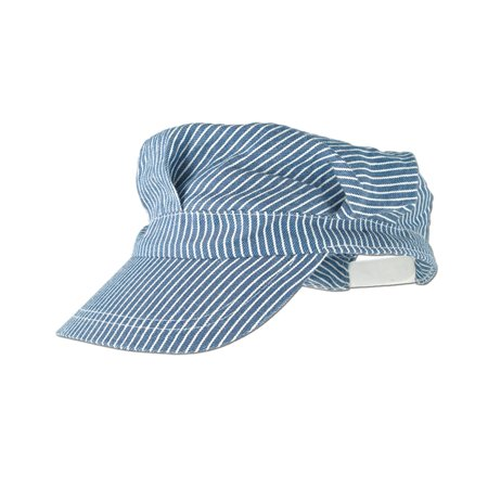 Train Engineer Hat (blue) Party Accessory  (1 - Train Engineer Hat For Adults