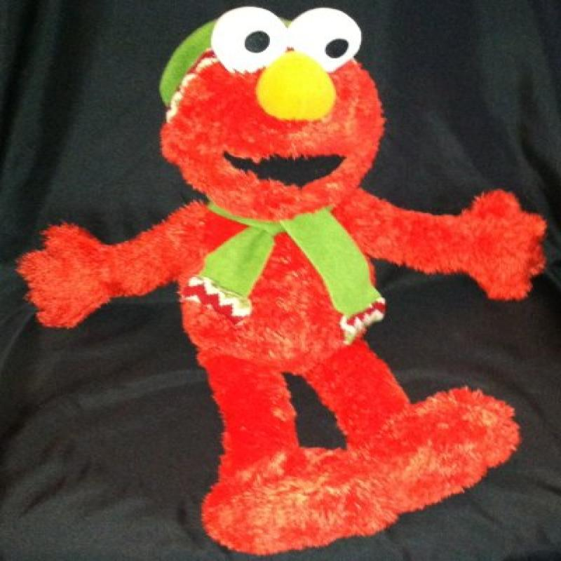 "22"" Holiday Elmo Plush with Matching Scarf and Hat"