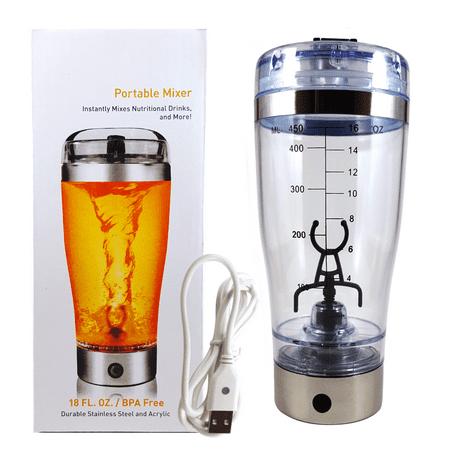 elitefit li ion personal blender vortex mixer portable blender bottle workout supplements. Black Bedroom Furniture Sets. Home Design Ideas